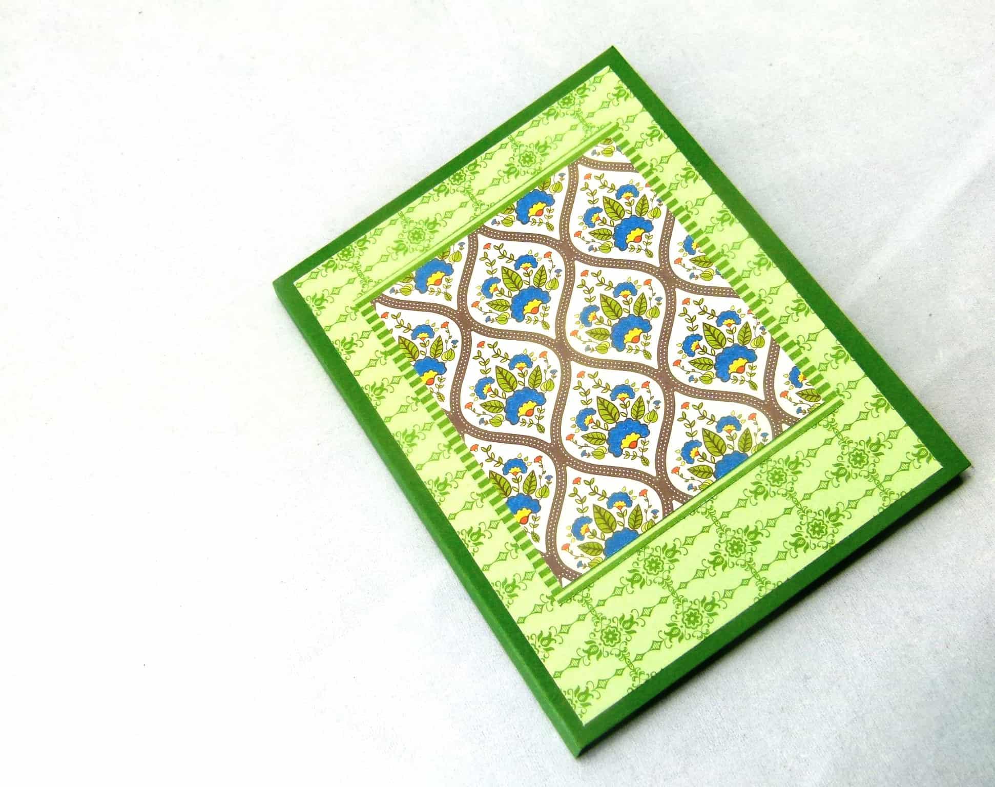 stampin' up international bazaar notebook 3