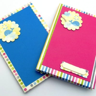 Stampin' Up! How to cover a hardback notebook VIDEO