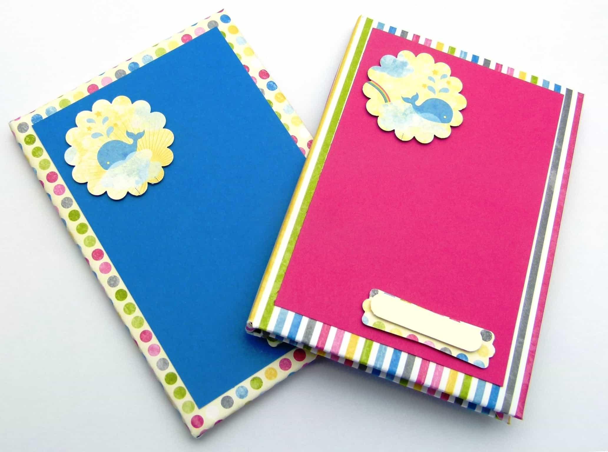 stampin up sunshine sprinkles hardback notebook tutorial 2