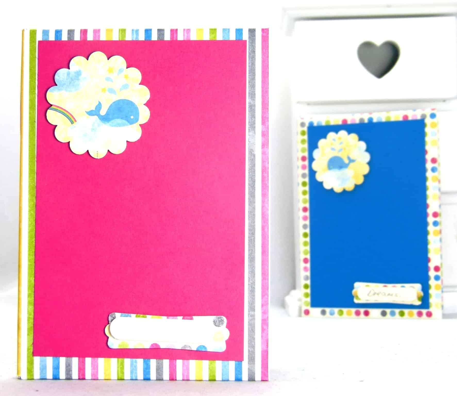stampin up sunshine sprinkles hardback notebook tutorial