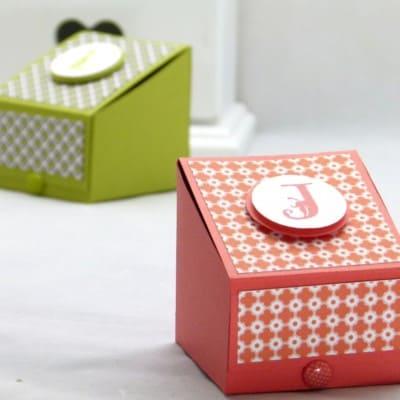 Stampin' Up! UK Boys Gift Treat Box Tutorial VIDEO