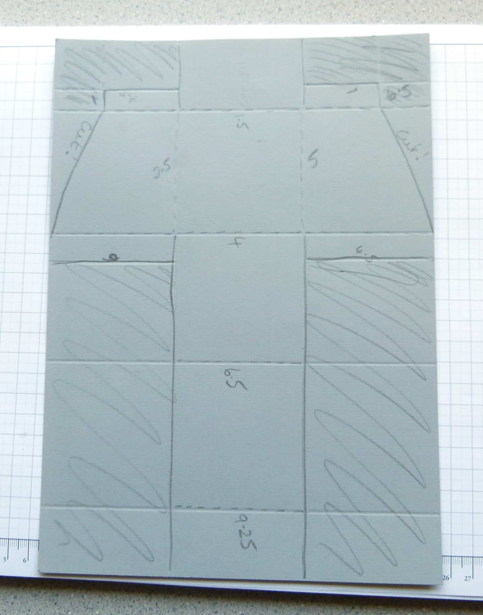 stampin up boys gift treat box template 5