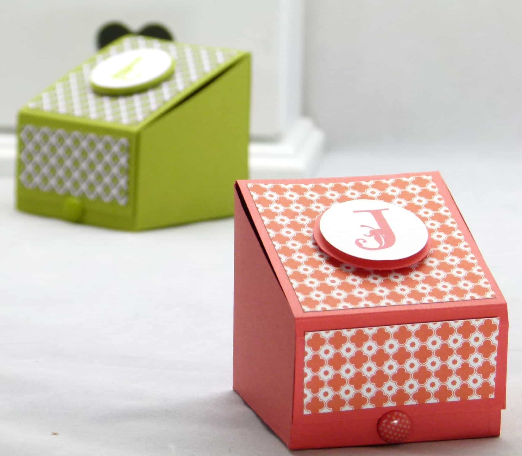 stampin up boys gift treat box