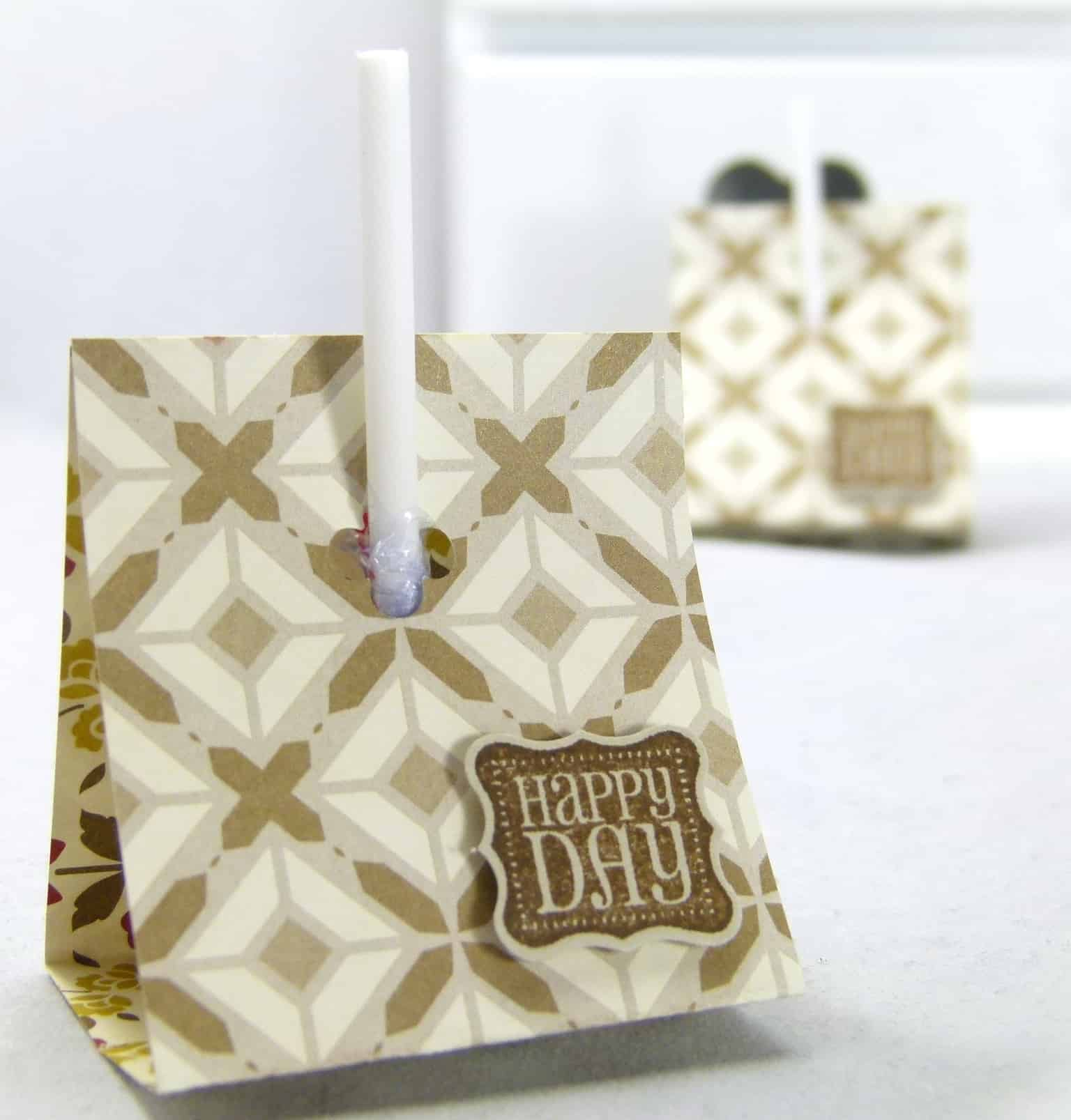 Stampin' Up! UK Lollipop Holder VIDEO