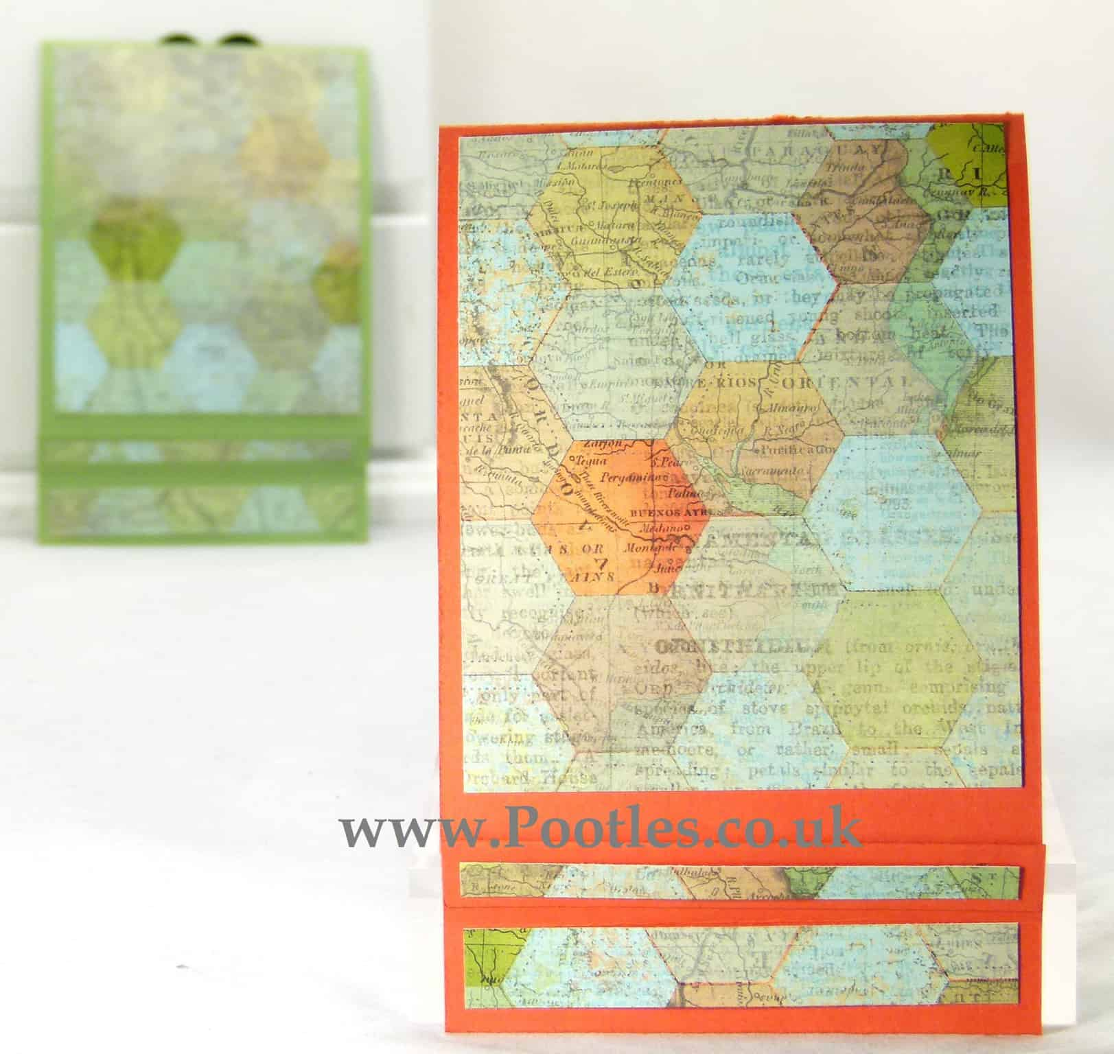 Stampin Up Matchbook Notebook