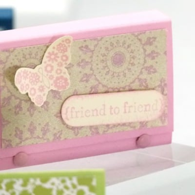 Stampin' Up! UK Mini Post It Note Pouch  VIDEO