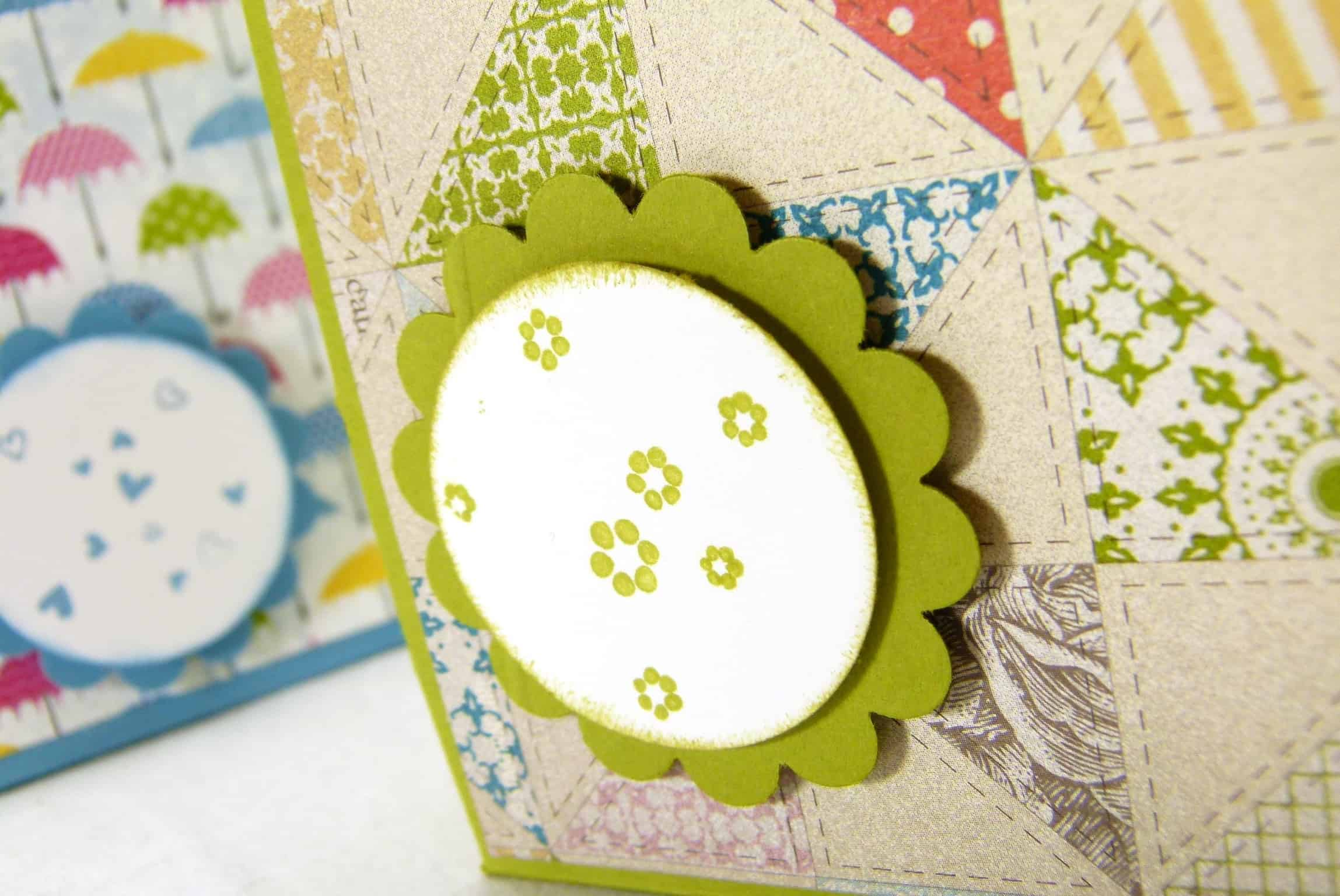 Stampin up one piece of adhesive treat gift box 2