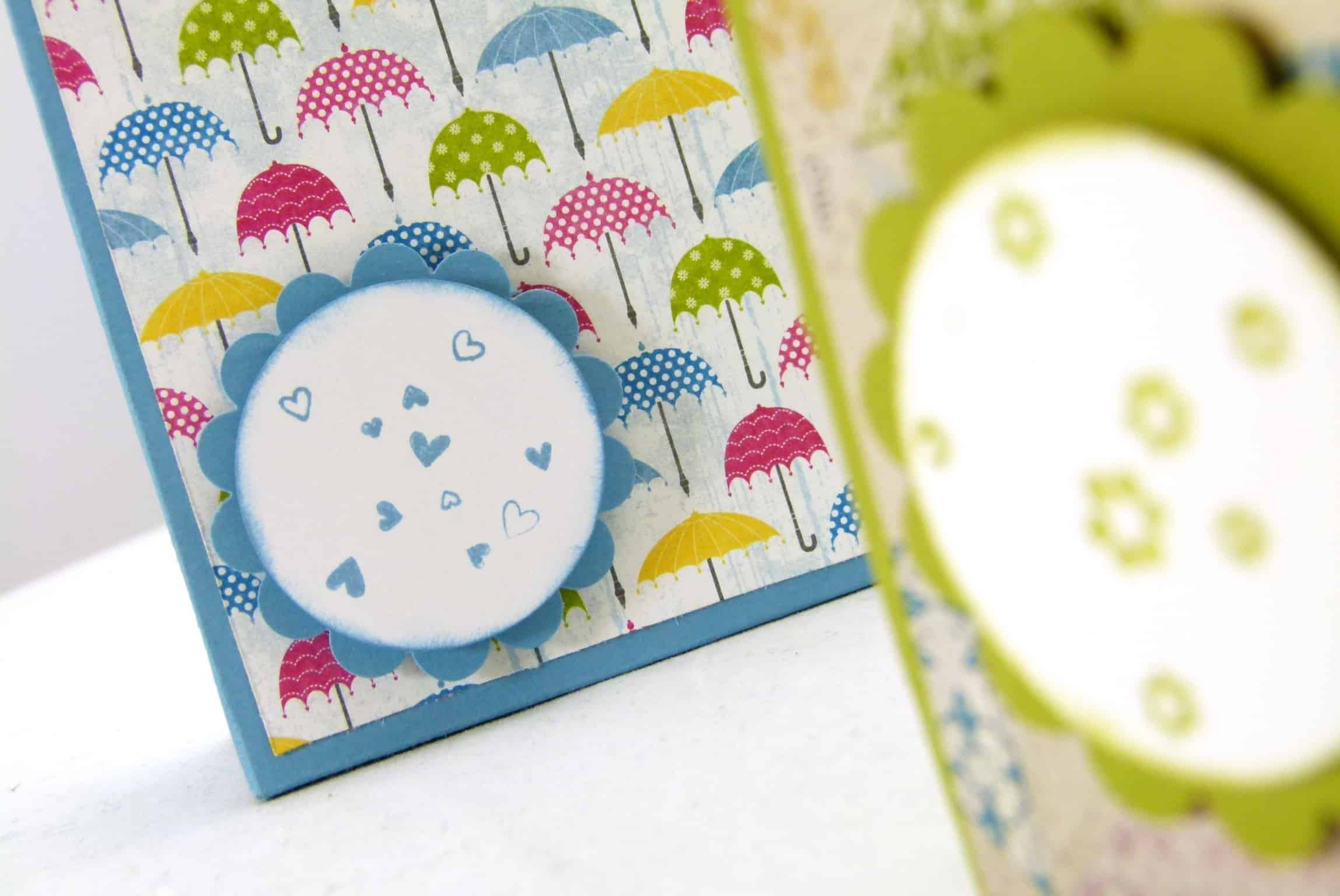 Stampin up one piece of adhesive treat gift box 3