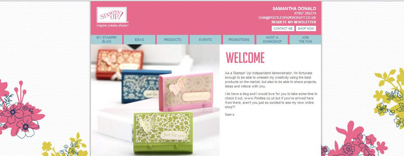 Stampin' Up! UK Online Shop and Ordering
