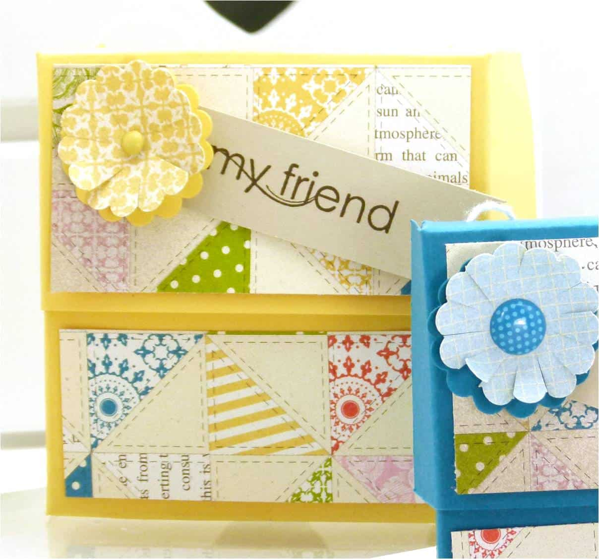 Stampin' Up! UK Secret Closure Gift Treat Soap Box 2