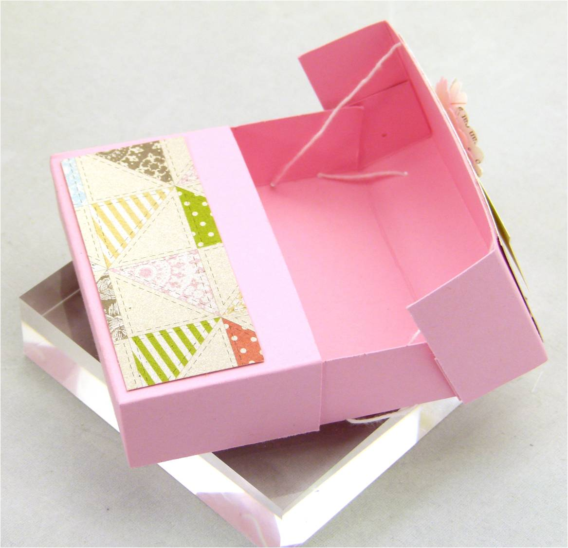 Stampin' Up! UK Secret Closure Gift Treat Soap Box 3