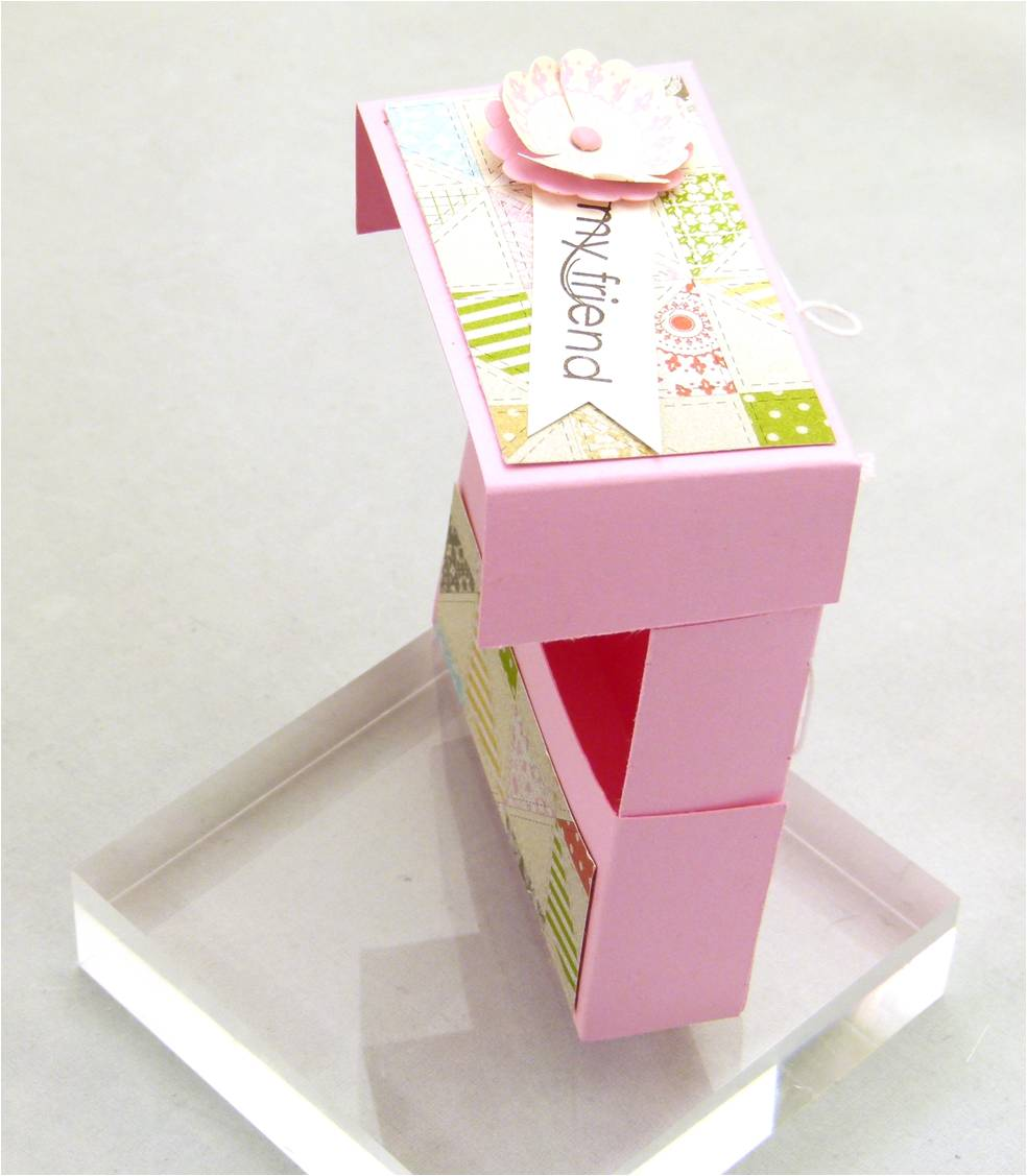 Stampin' Up! UK Secret Closure Gift Treat Soap Box 4