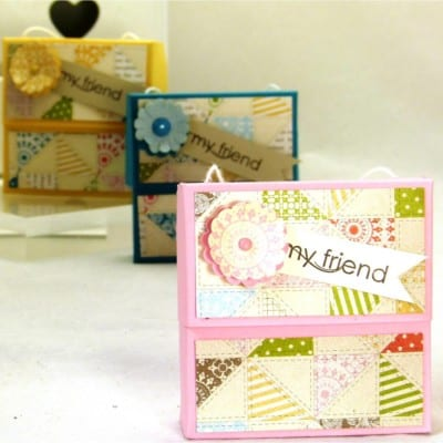 Stampin' Up! UK Secret Closure Gift Treat Soap Box VIDEO