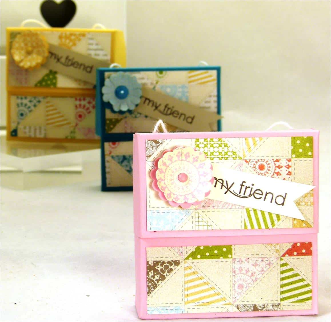 Stampin' Up! UK Secret Closure Gift Treat Soap Box VIDEO