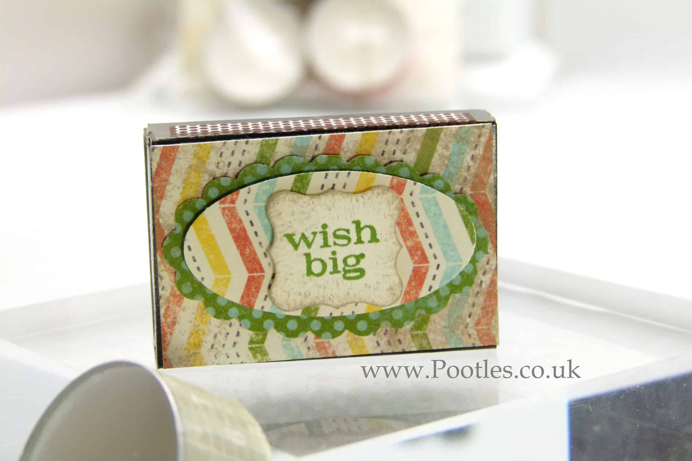 Stampin Up UK This & That Epic Day Altered Tea Lights & Matchbox Gift VIDEO