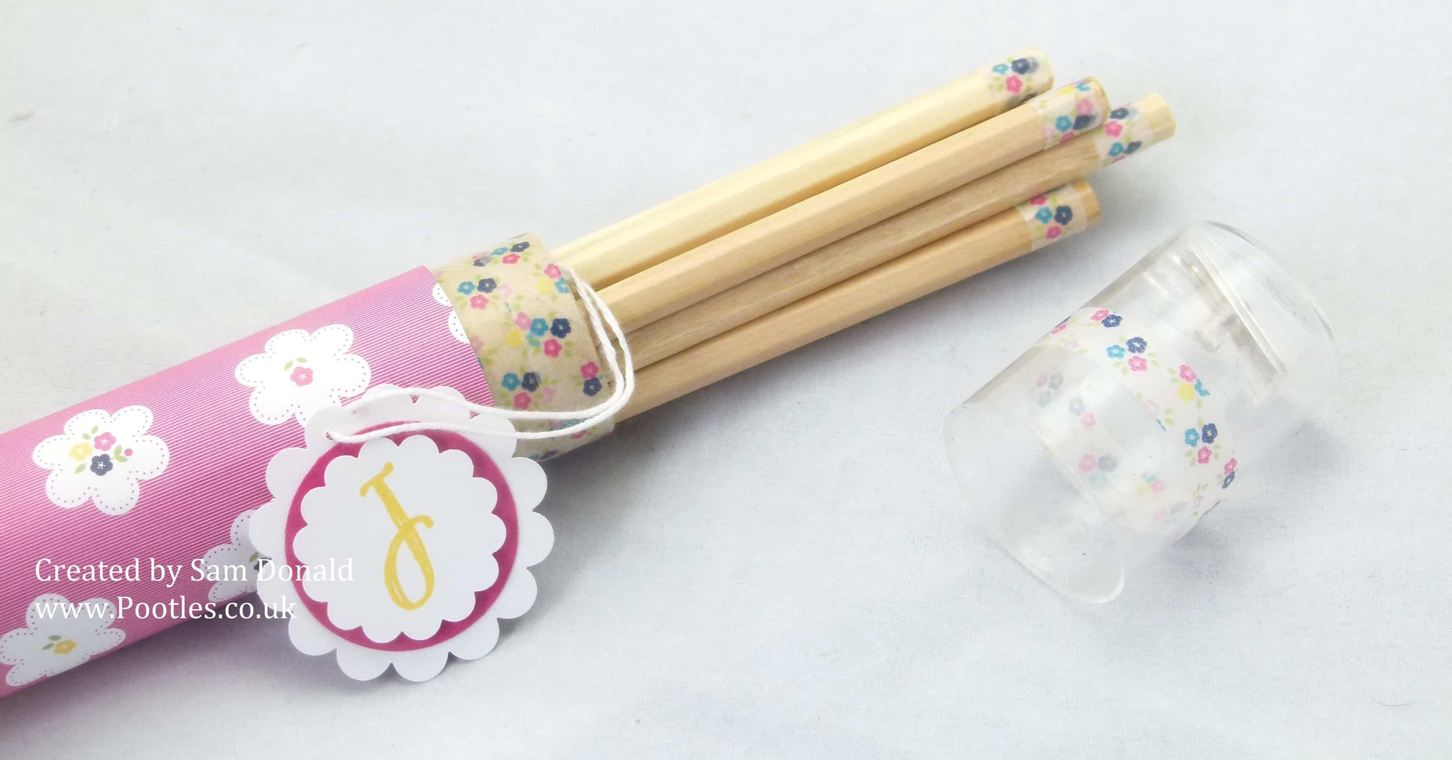 Pootles Stampin Up Gingham Garden Colouring Pencils 2 (1)