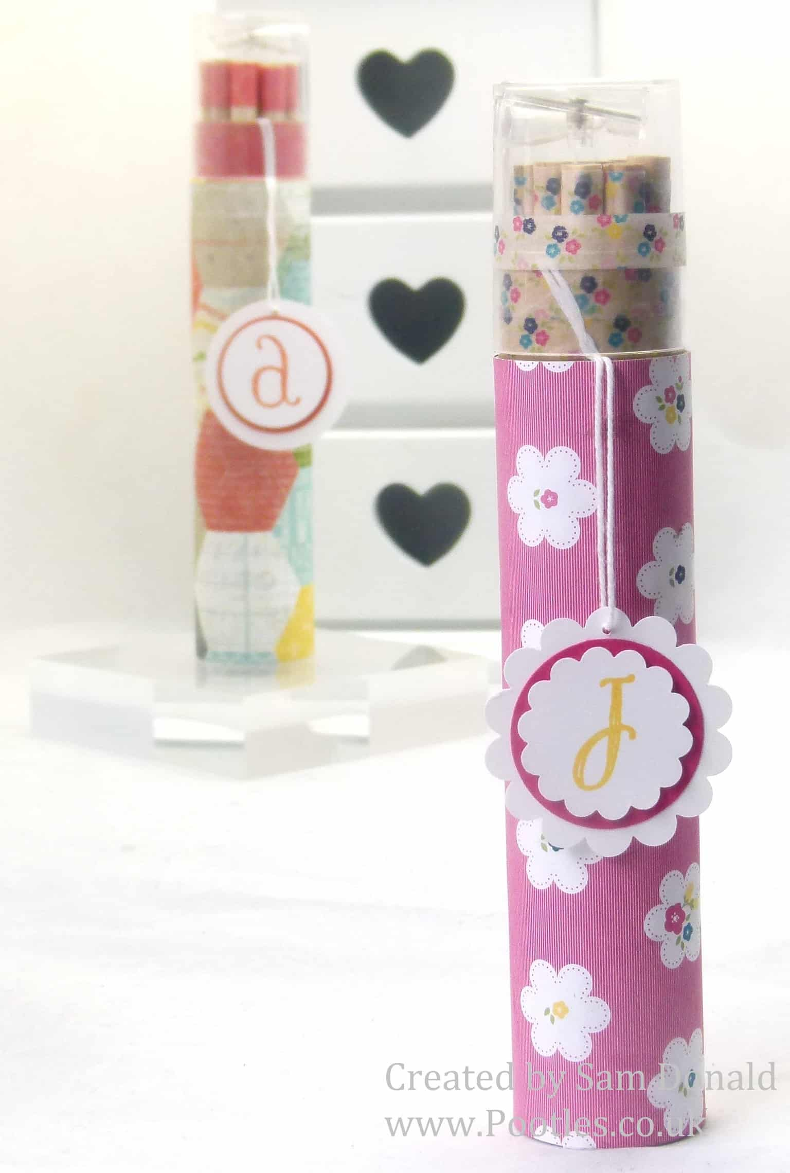 Pootles Stampin Up Gingham Garden Colouring Pencils 2 (2)