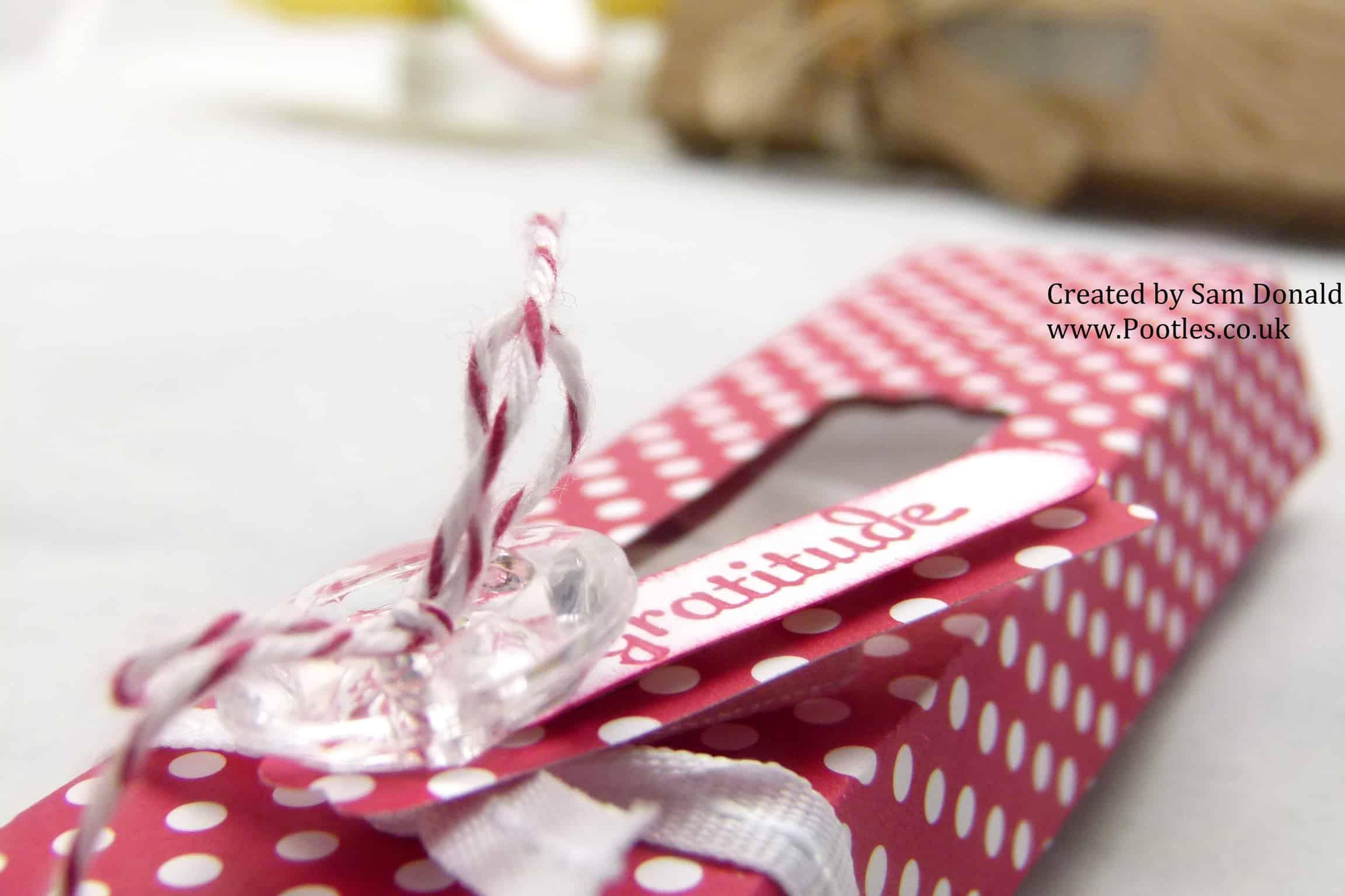 Pootles Stampin Up UK Tea Light Gift Box 5 (1)