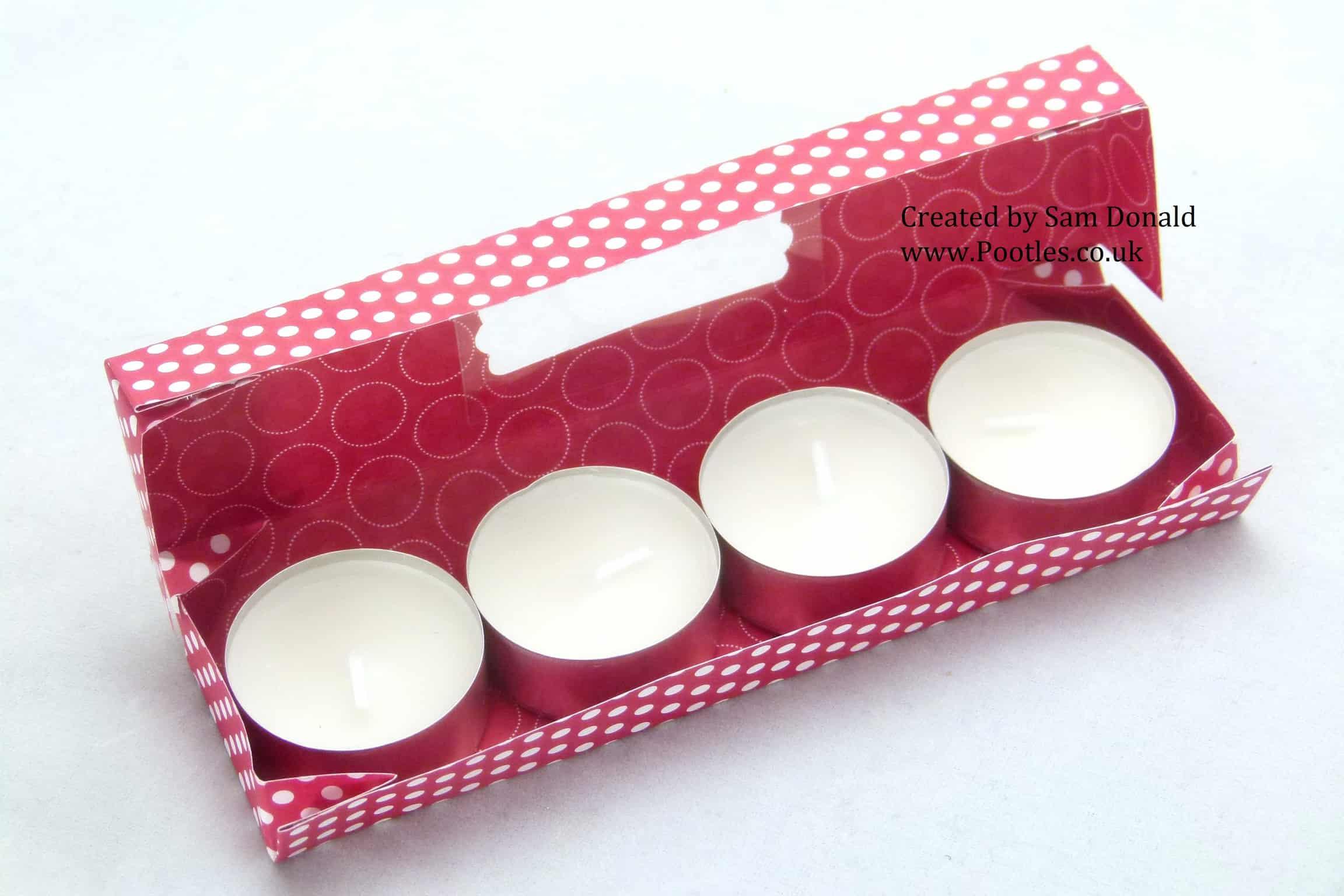 Pootles Stampin Up UK Tea Light Gift Box3