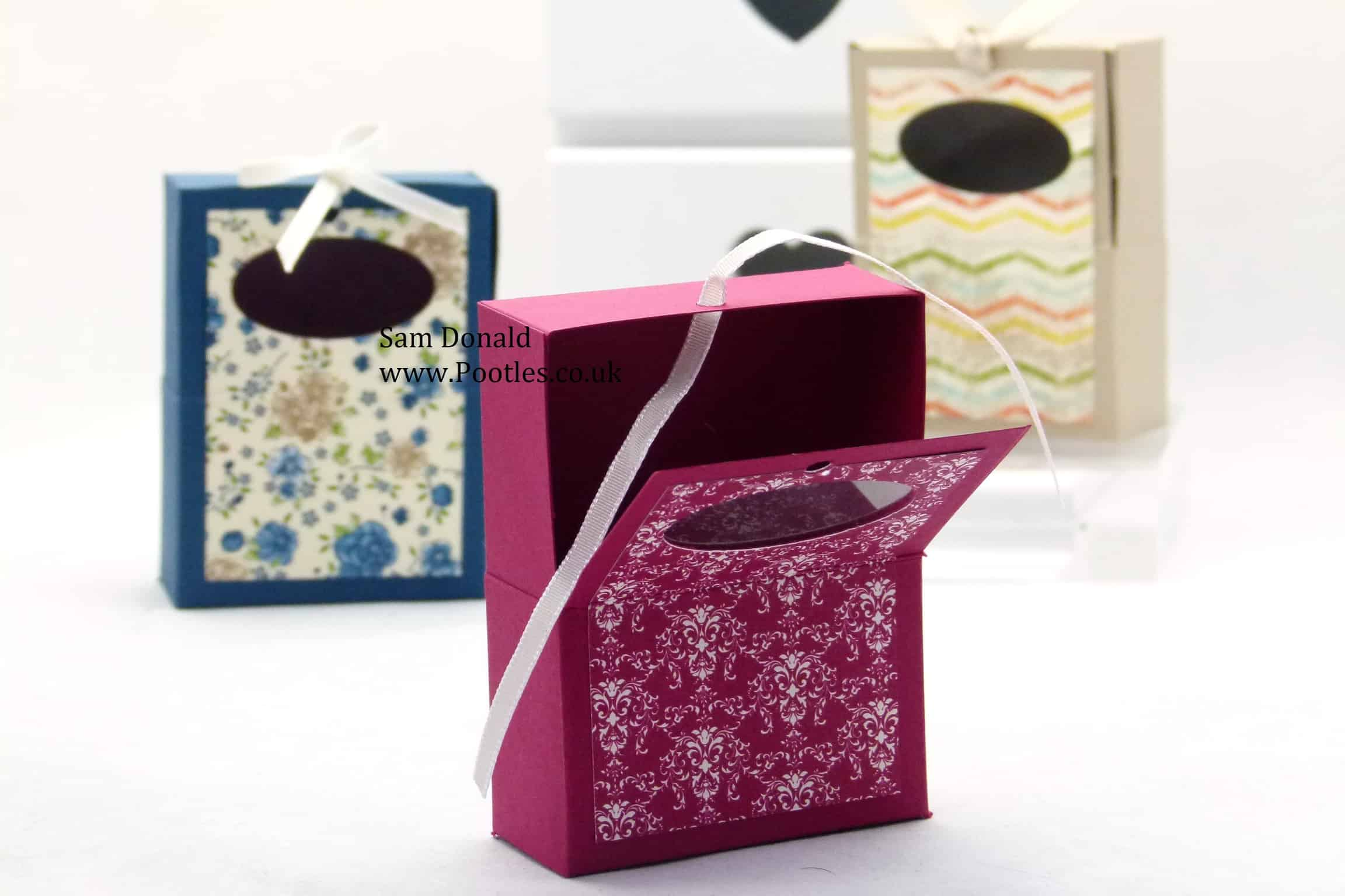Stampin Up Hinged Soap Gift Box 2