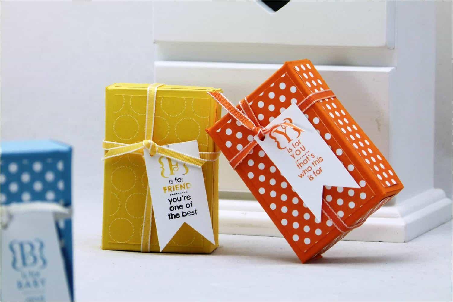 Stampin' Up! UK Mini Treat Gift Box