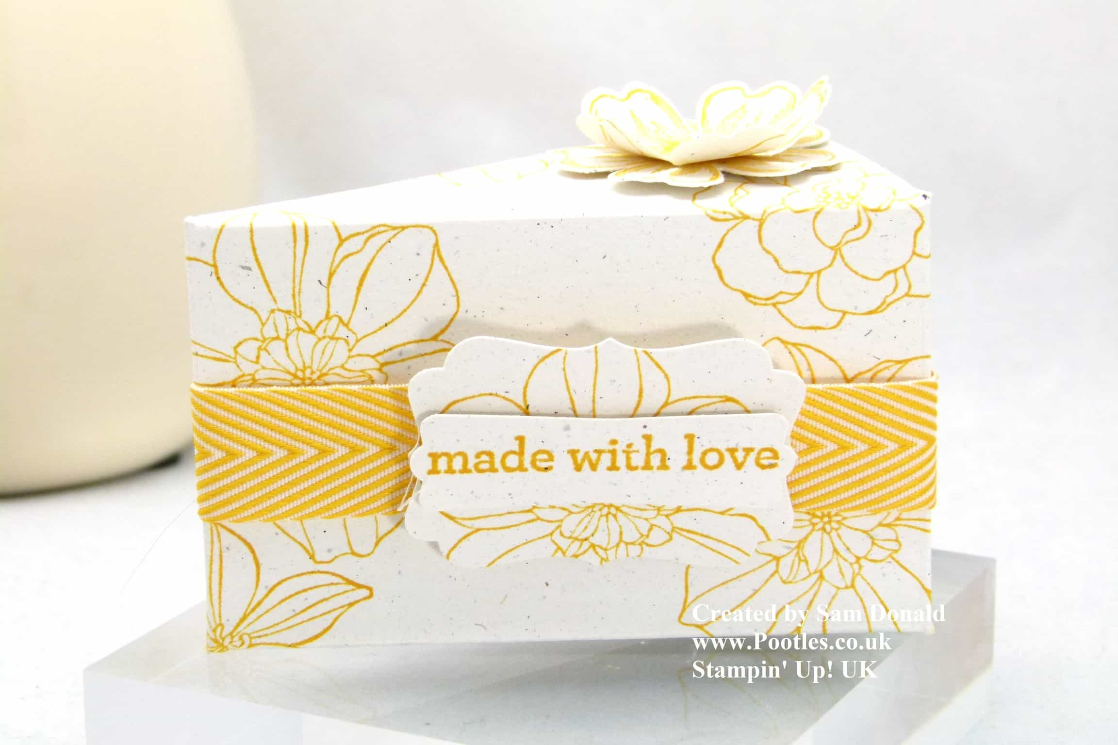 Stampin' Up! UK Cake Slice Box – IMPERIAL! VIDEO
