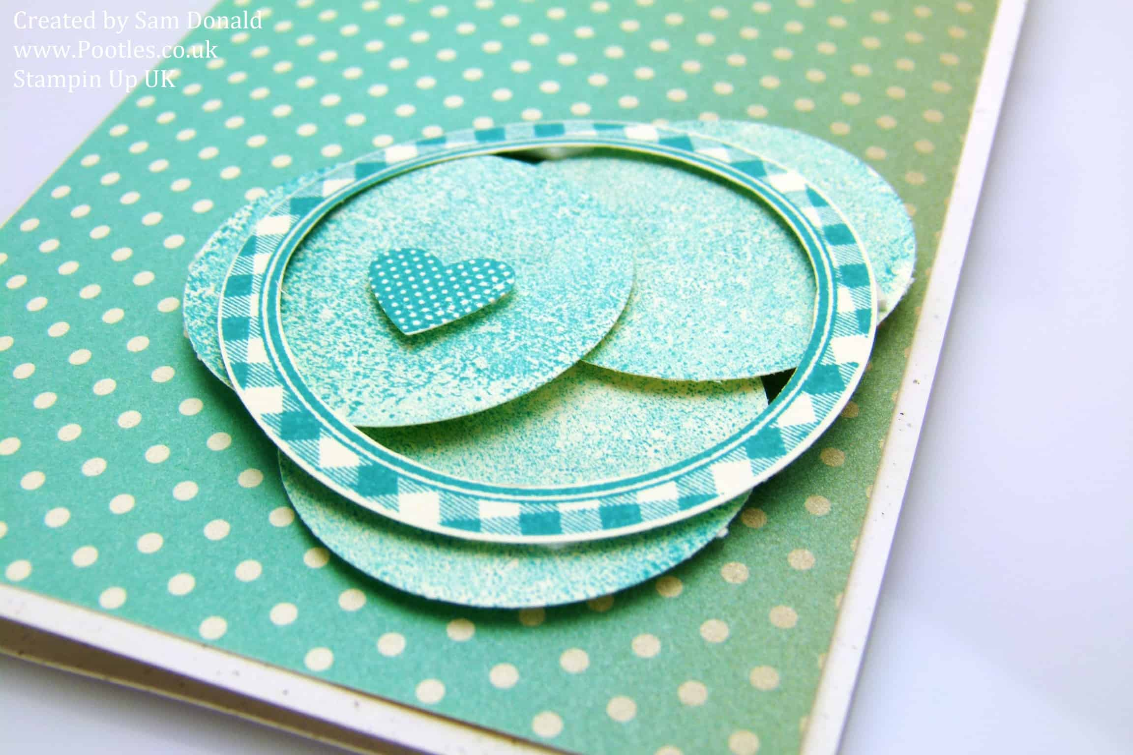 Stampin' Up! UK Bermuda Bay Afternoon Picnic
