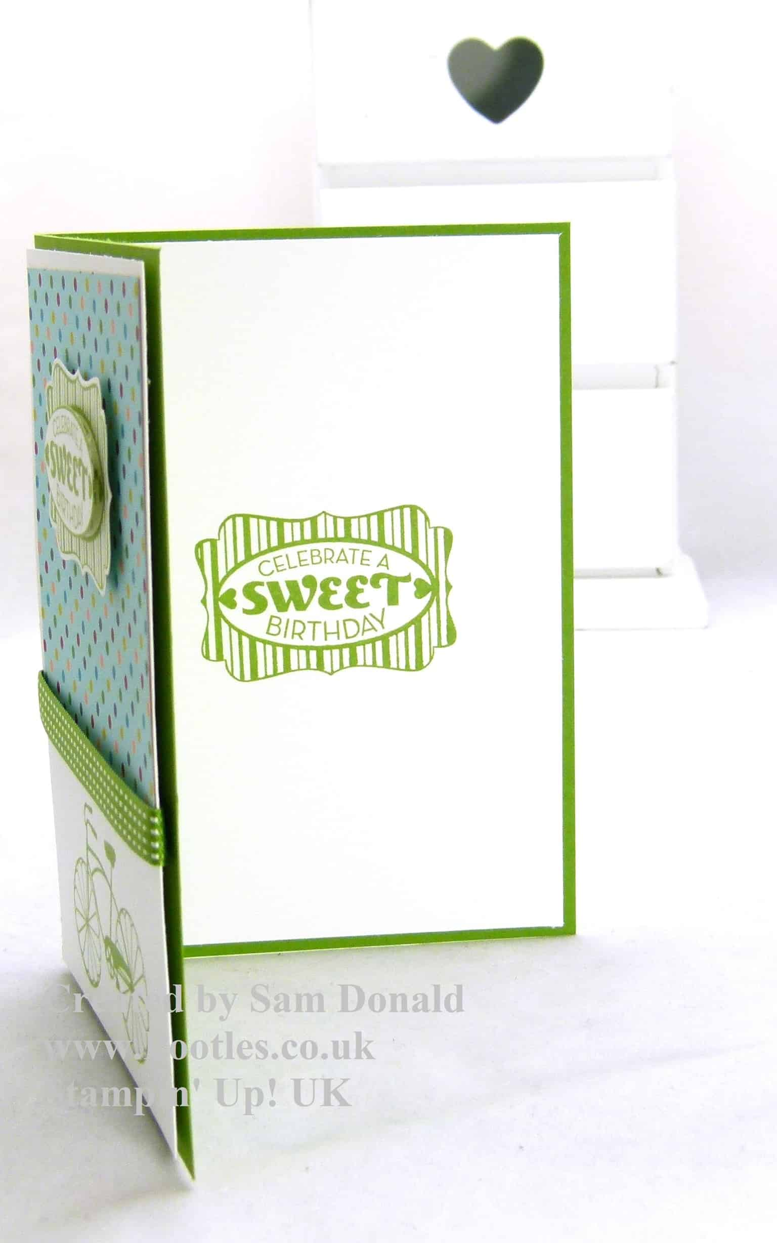 Pootles Stampin Up UK Boy Birthday Card 3