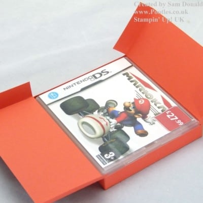 Stampin' Up! UK Nintendo DS Game Holder Tutorial VIDEO