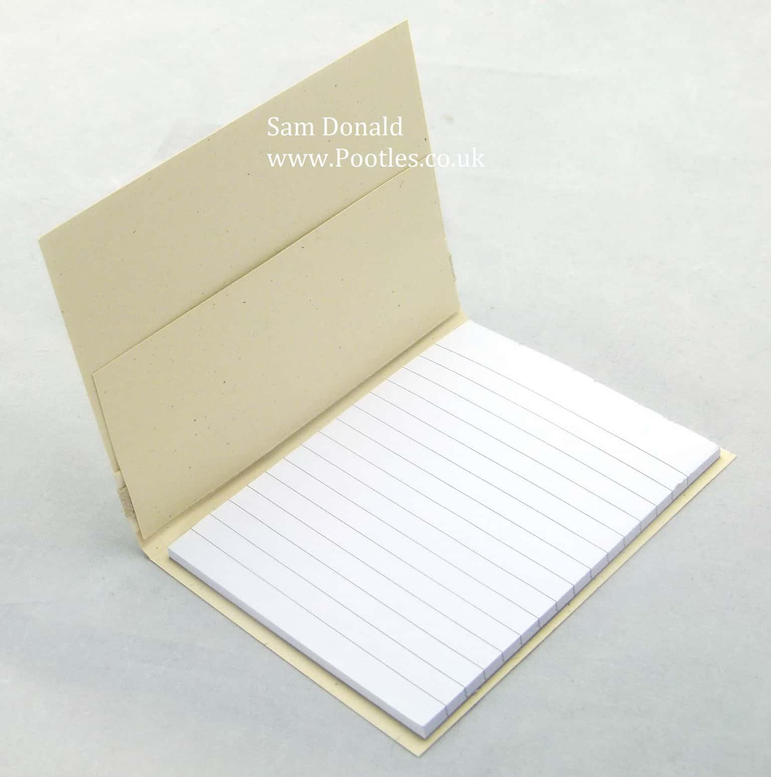 Pootles Stampin Up UK Notebook