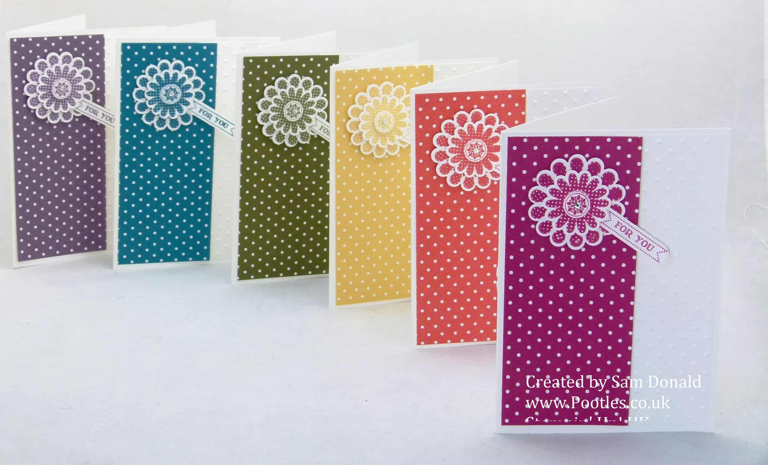 Pootles Stampin Up UK Polka Dot Pieces 4 (2)