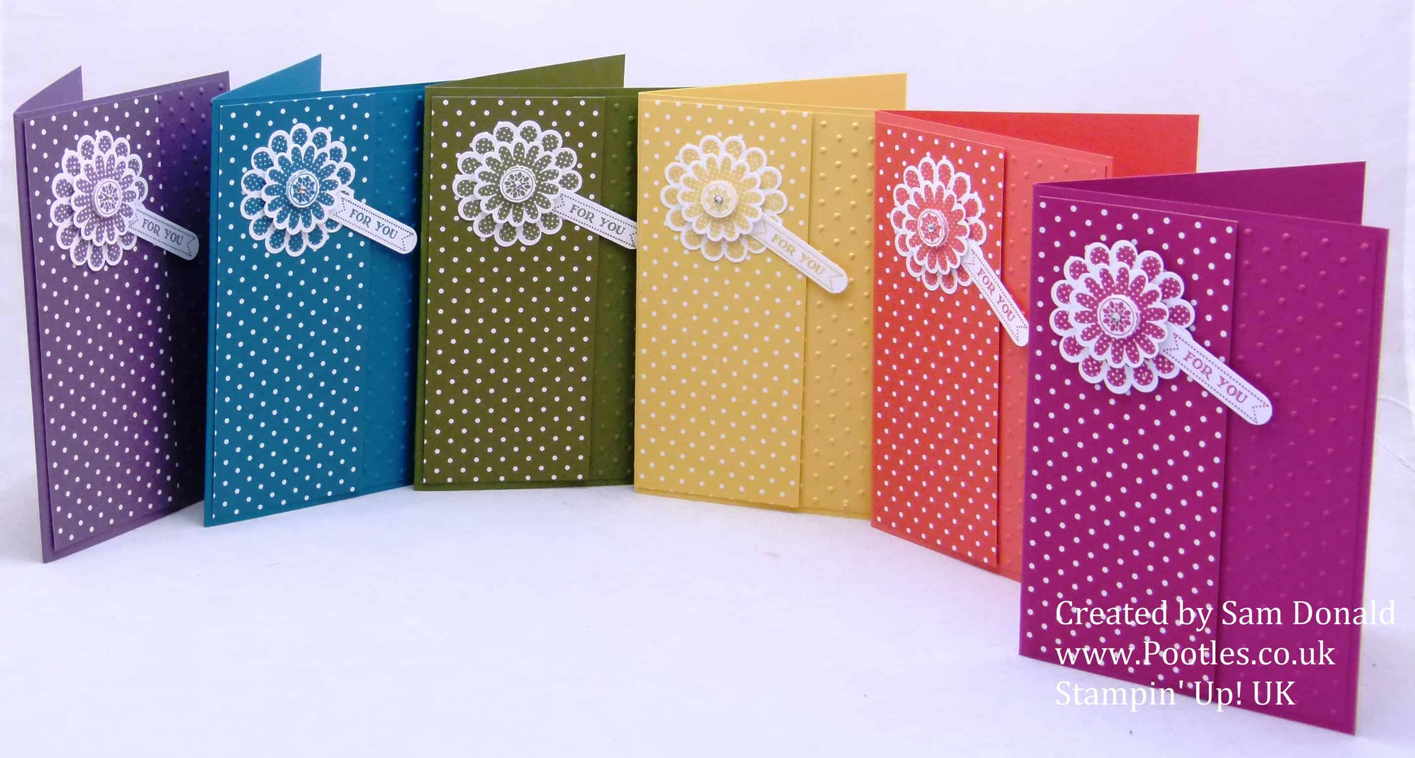 Pootles Stampin Up UK Polka Dot Pieces 6 (2)