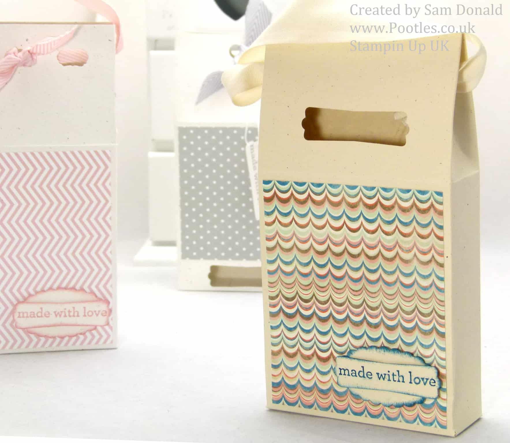 Pootles Stampin Up UK Soap Treat Box 2 (2)