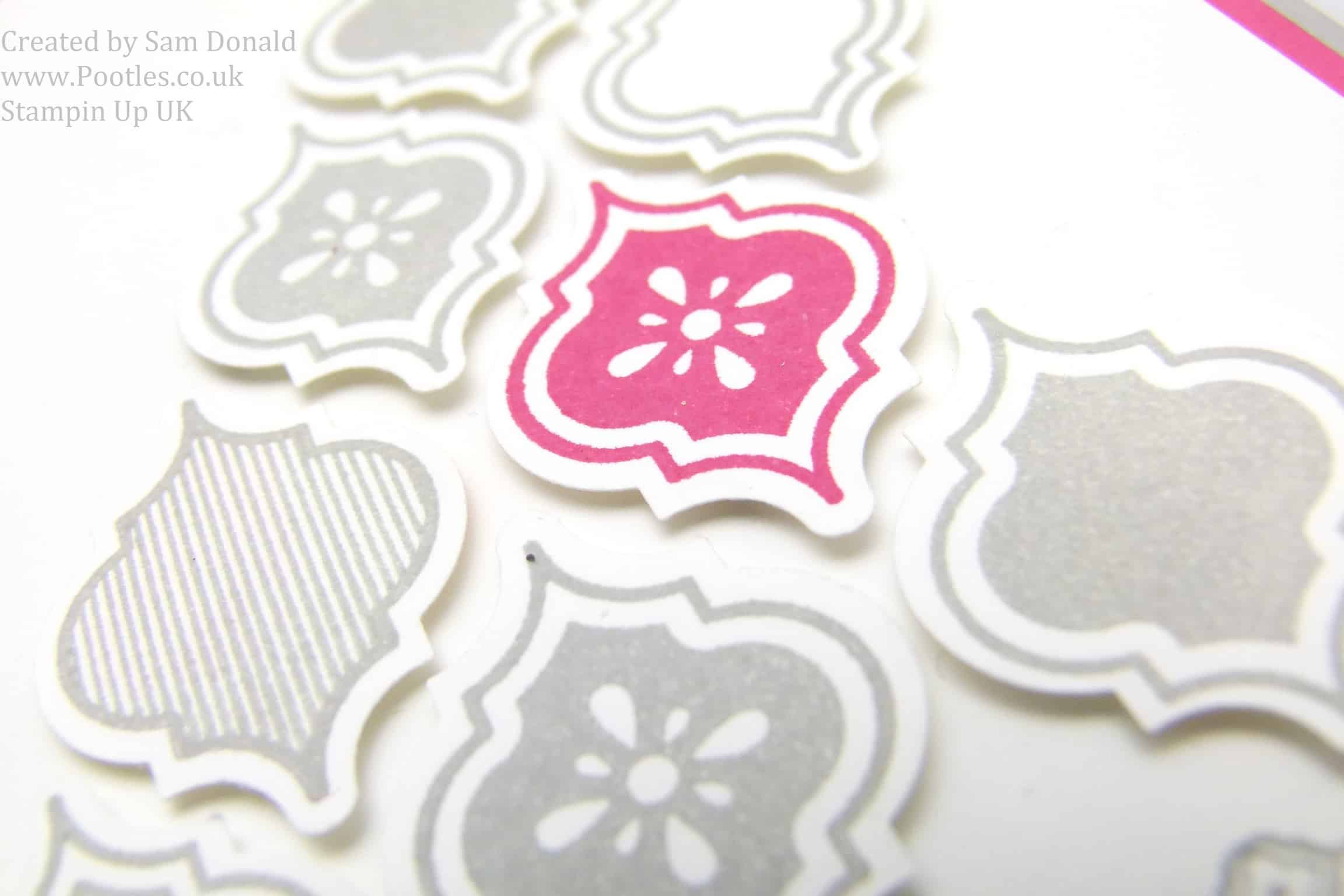 Pootles Stampin Up UK Strawberry Slush Mosaic Madness 2