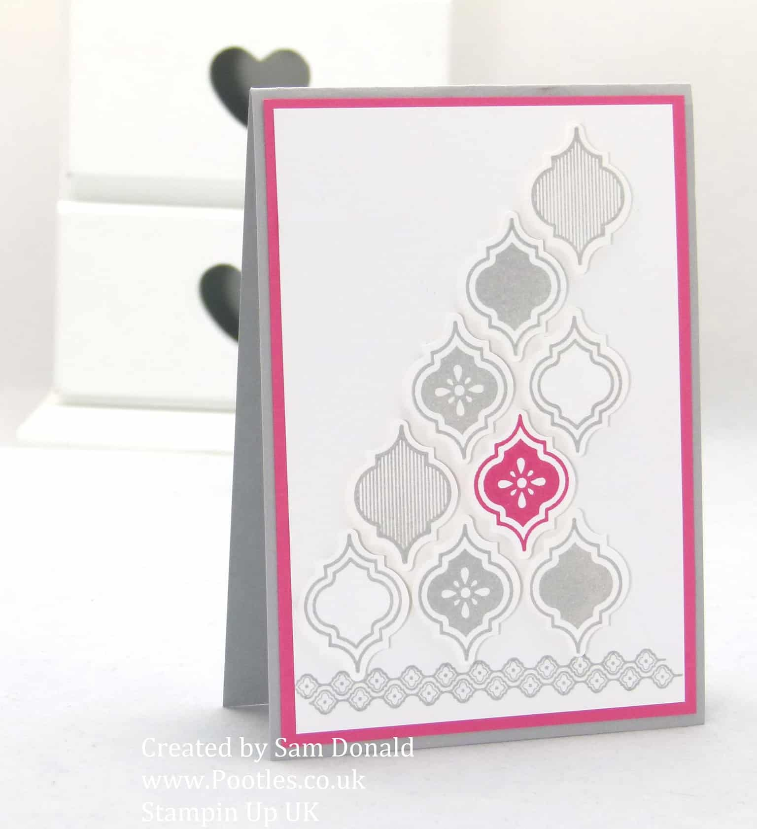 stampin up uk mosaic madness cards video