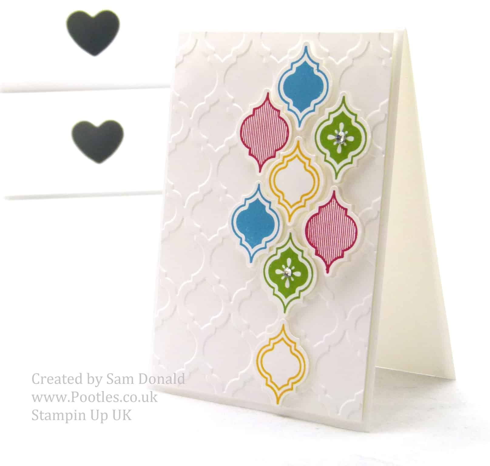 Stampin Up UK Multicoloured  Mosaic Madness 3
