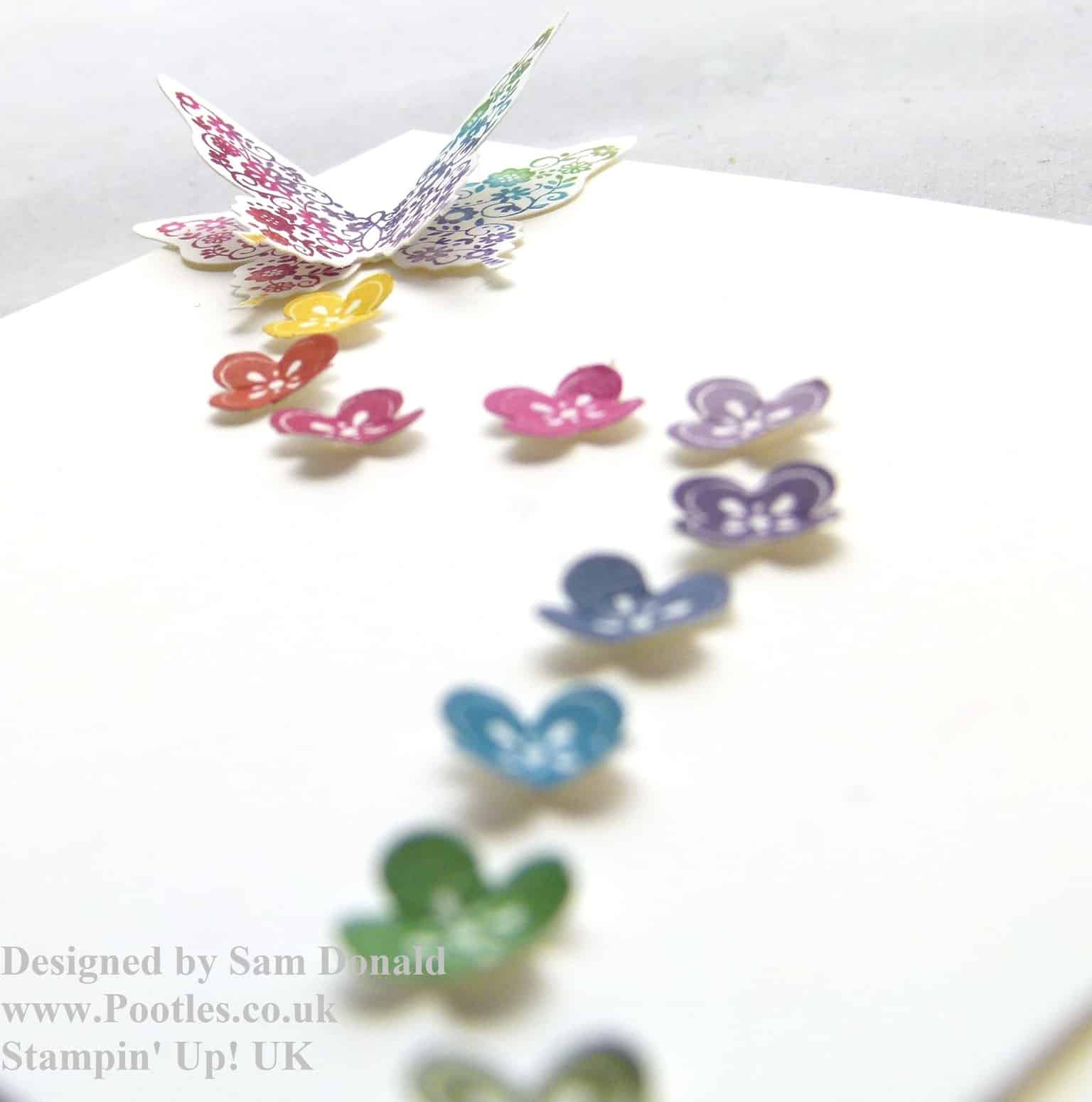 Pootles Stampin Up A Regal Butterfly 2