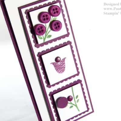 Bright Blossoms Simple Card VIDEO