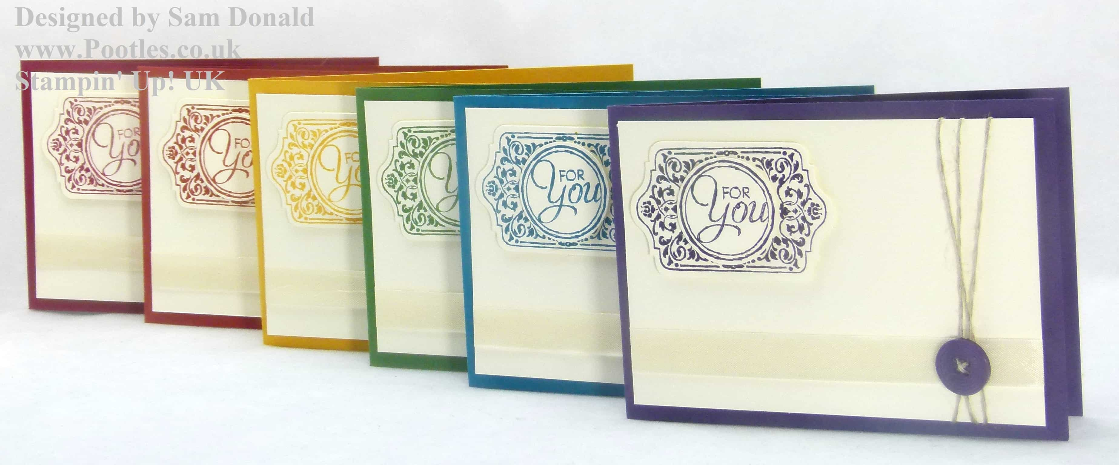 Pootles Stampin Up Chalk Talk Meets Regals