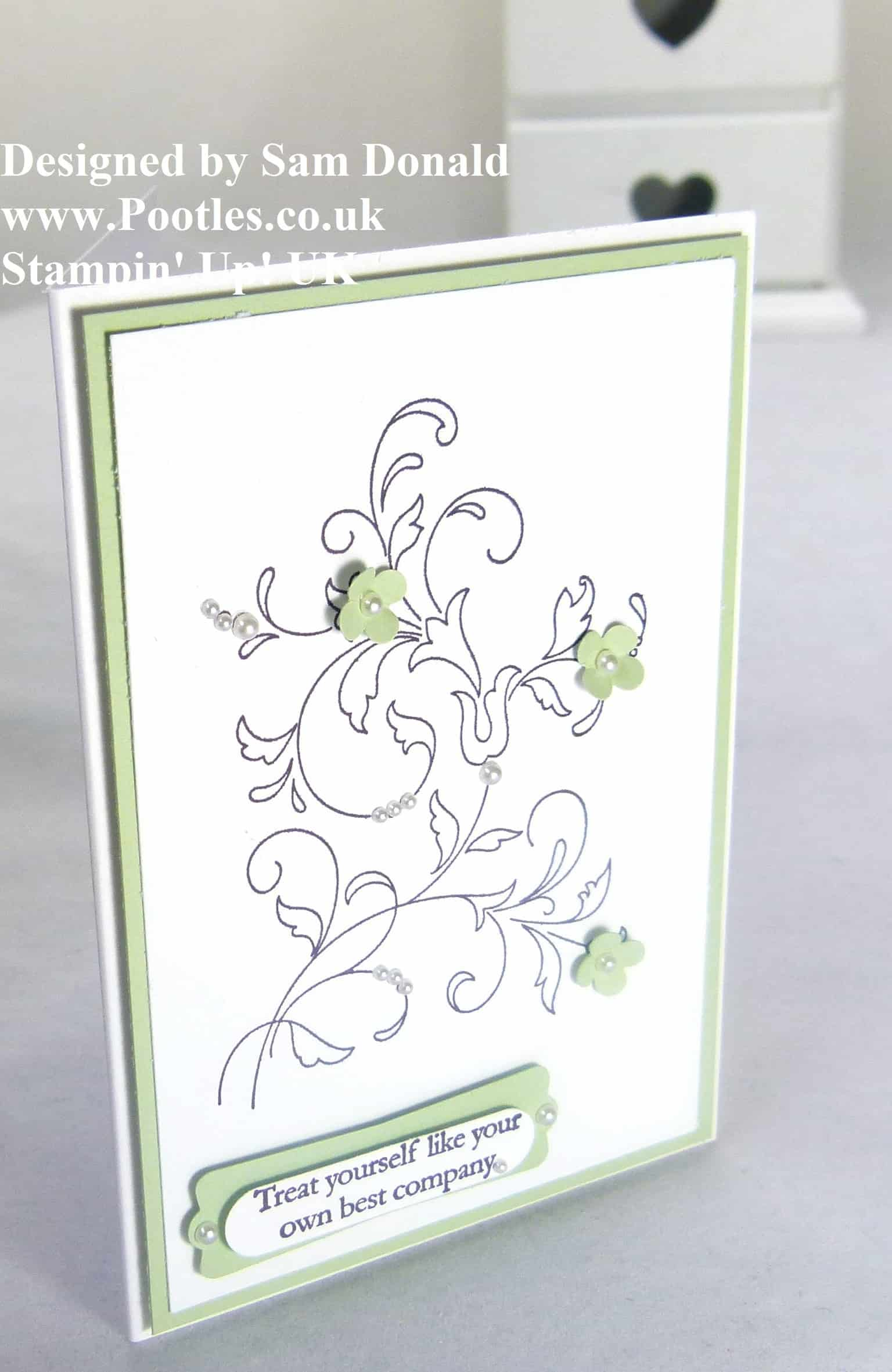 Pootles Stampin Up Creatively Yours Colour Mix 2