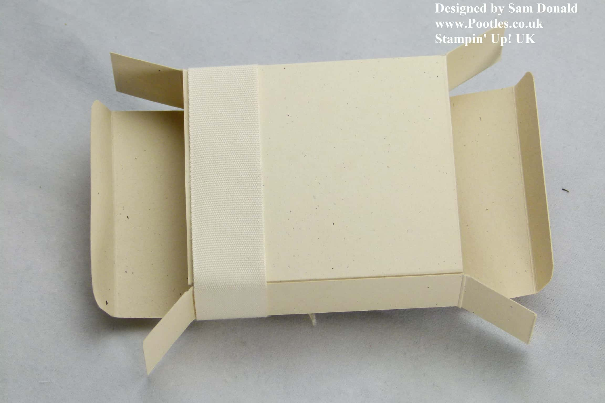 Pootles Stampin Up Easy Stick Easy Fold Box 4