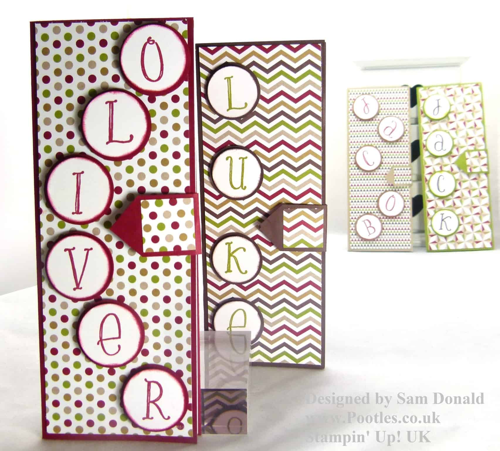 Pootles Stampin Up Seasons of Style Non Christmassy Notebooks 10