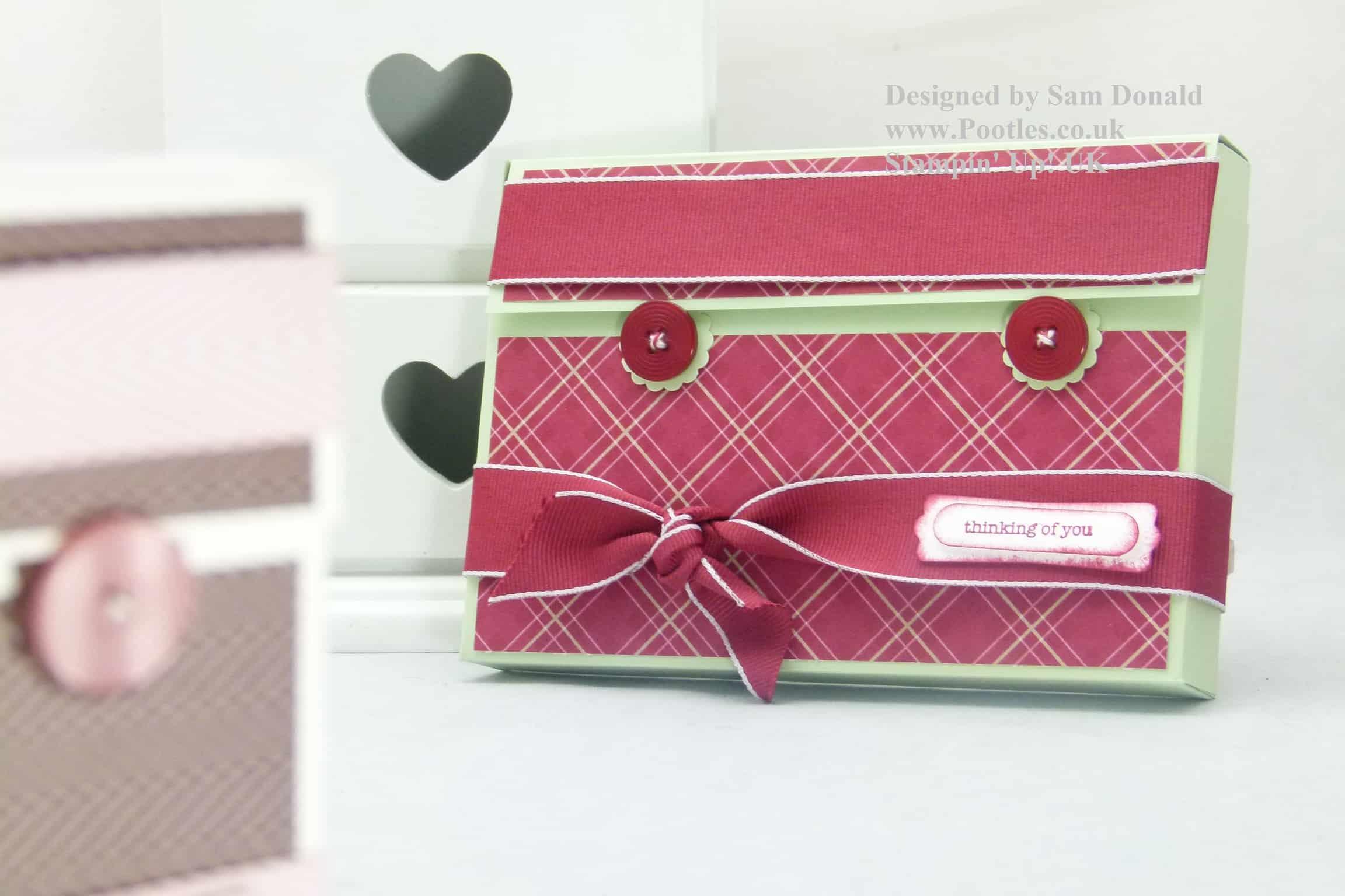 Pootles Stampin Up UK Card Gift Box 2