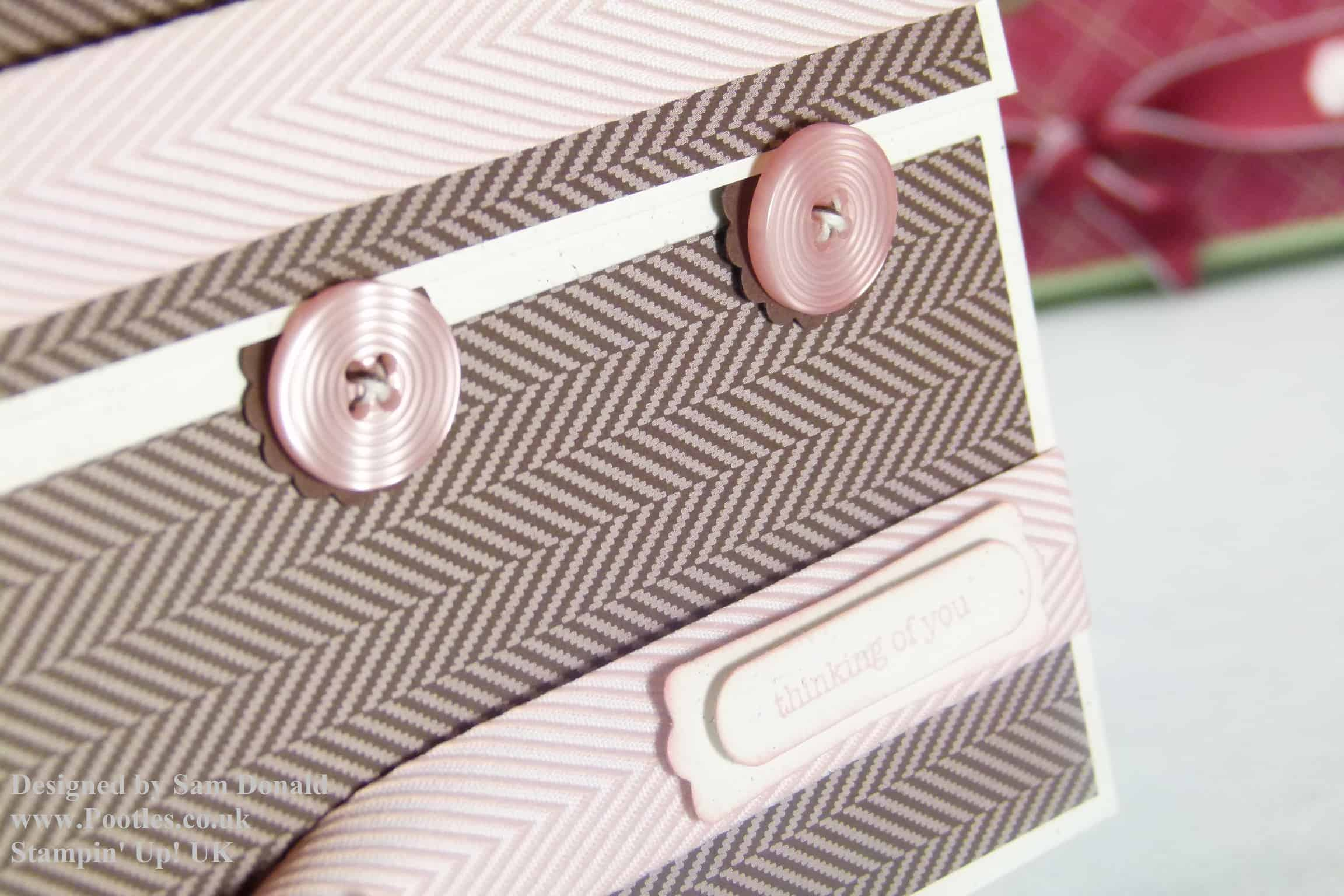 Pootles Stampin Up UK Card Gift Box