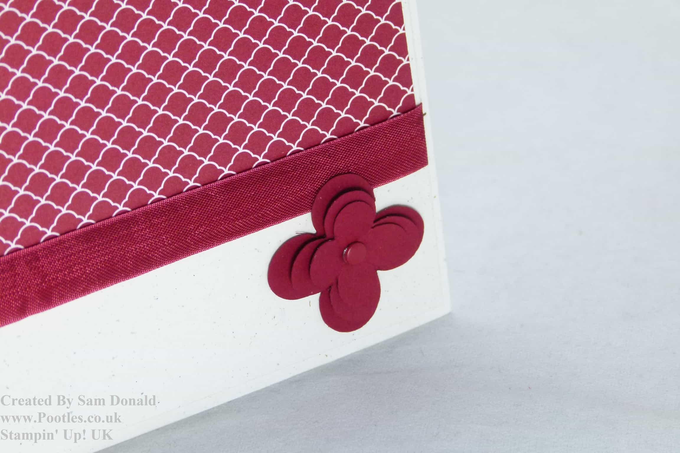Pootles Stampin Up UK Cherry Cobbler Showcase