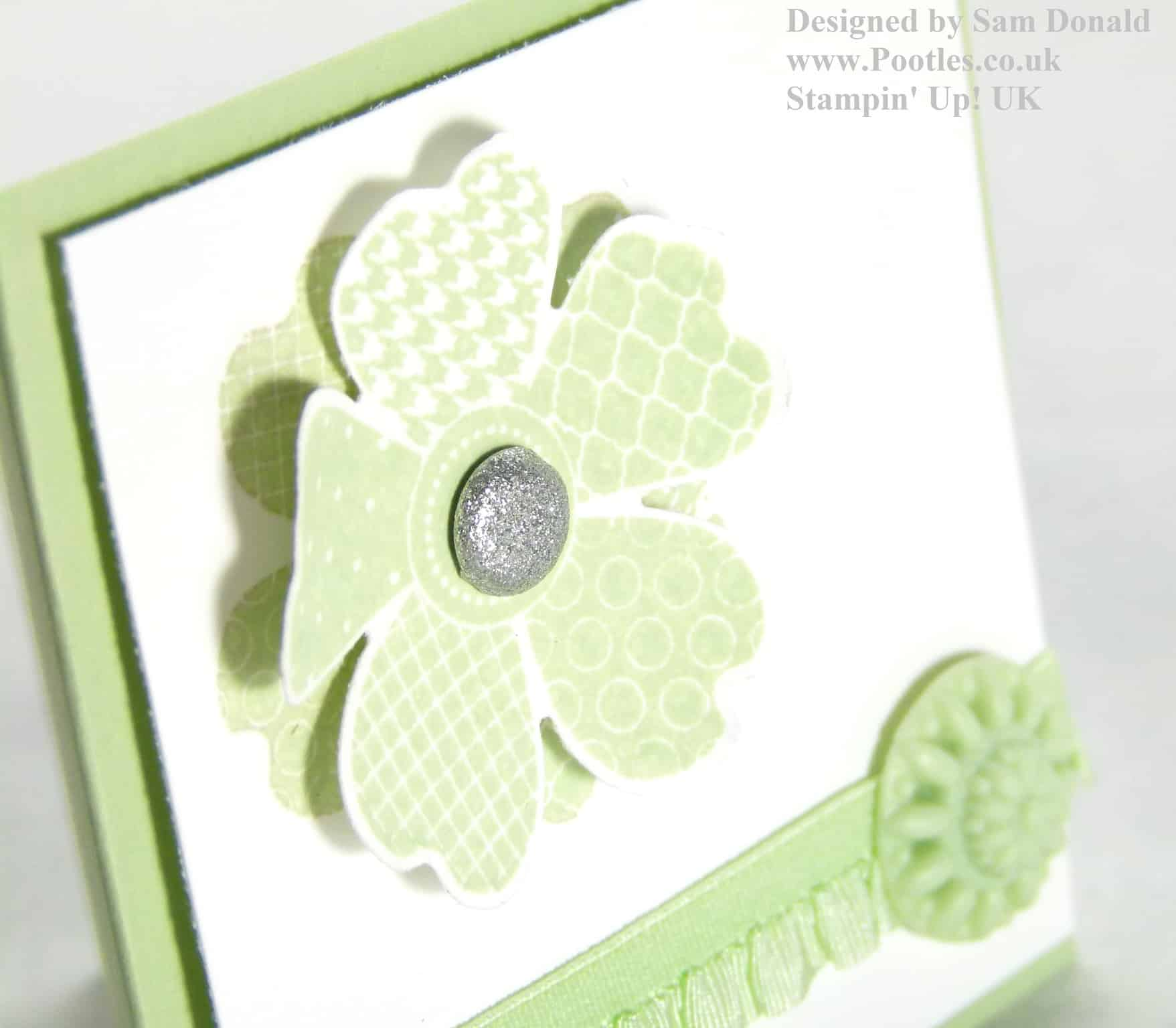 Pootles Stampin Up UK Pansy Punch Flower Shop In Colours 2