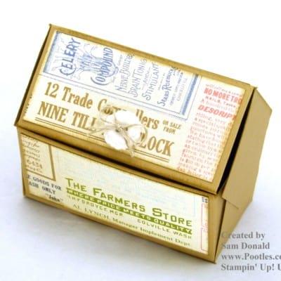 Pentagonal Treasure Chest Keepsake Box VIDEO