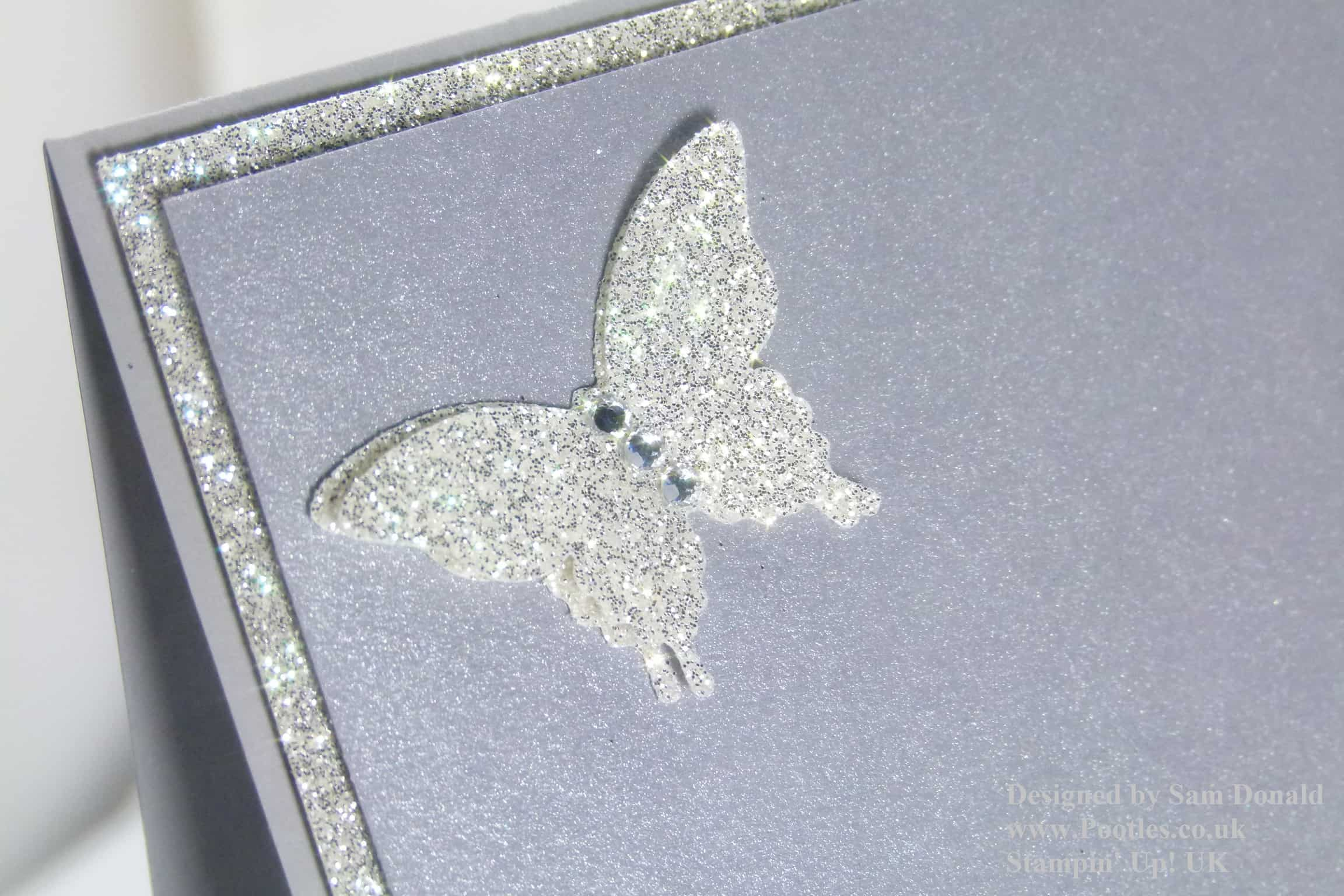 Pootles Stampin Up UK Simply Blingy Card 2