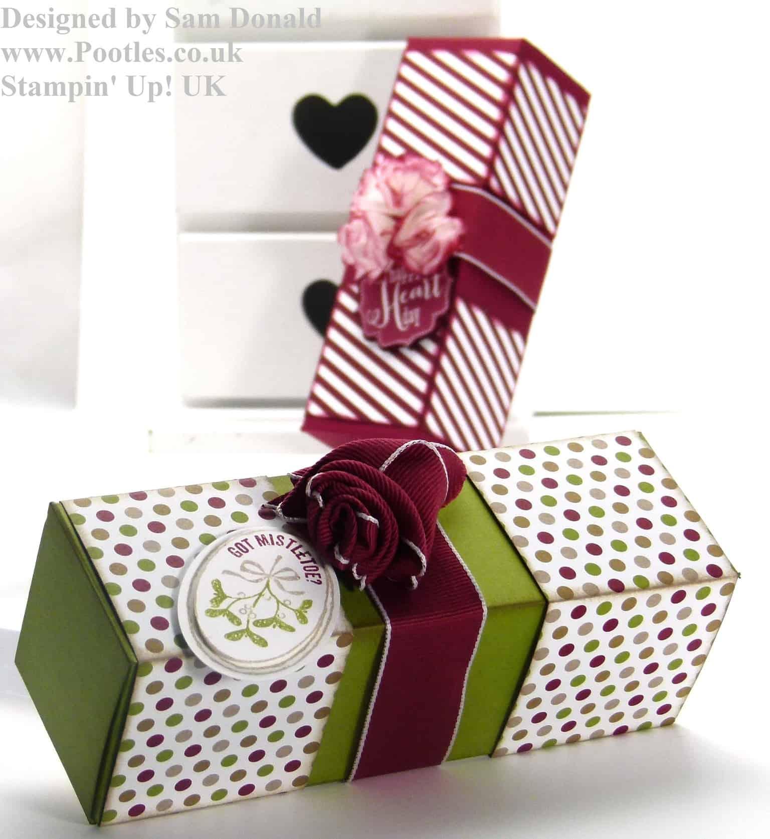 Pootles Stampin Up blog Hop box 4