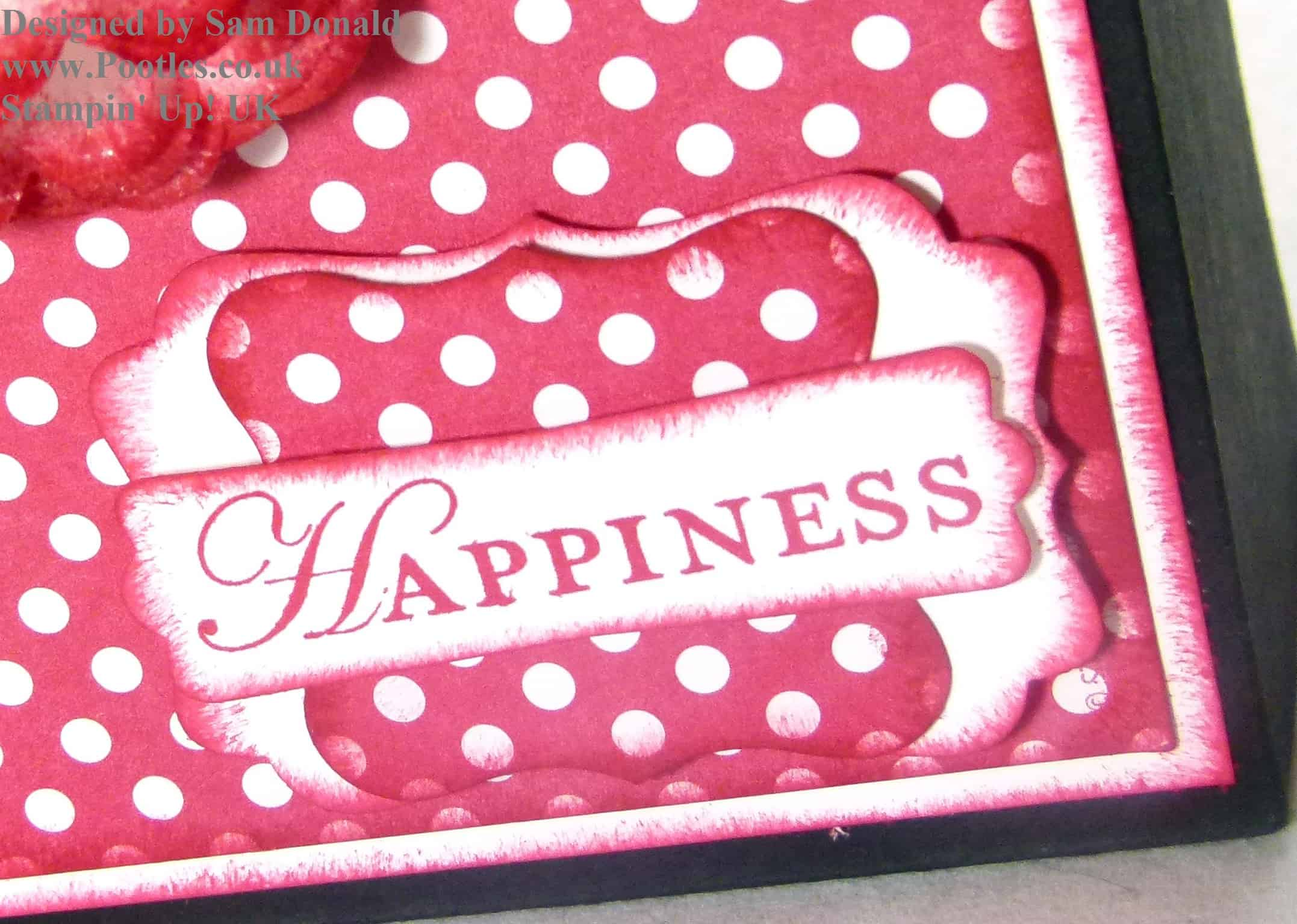 Pootles Stampin Up Handled Gift Bag Tutorial
